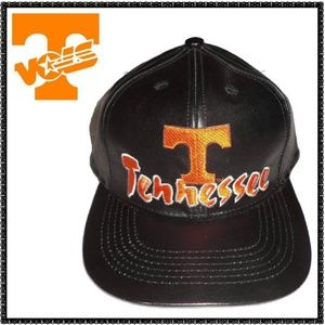 TENNESSEE VOLS Baseball Cap LEATHER Hat NEW ~ NWT